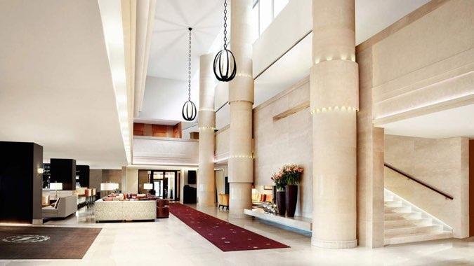 Sheraton Stockholm Hotel lobby
